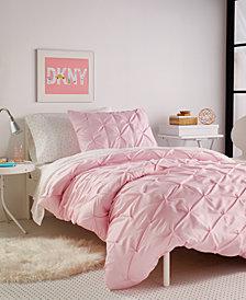 DKNY Kids Pink Twist Full/Queen Duvet Set