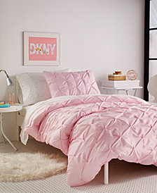 DKNY Kids Pink Twist Twin Duvet Set