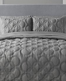 Atoll 7-Pc. Quilted Queen Bed-in-a-Bag Set