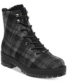 indigo rd. Izma Faux-Fur Hiker Booties