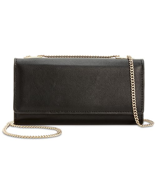 INC International Concepts INC Glam Crossbody Wallet, Created for Macy's