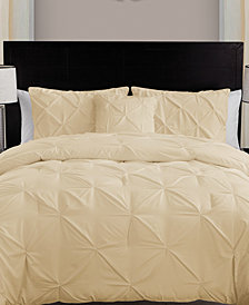 VCNY Home Carmen 4-Pc. Pintuck King Comforter Set