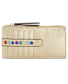 I.N.C. Glam Metallic Card Case, Created for Macy's