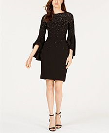 Calvin Klein Petite Embellished Sheath Dress