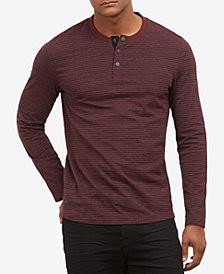 Kenneth Cole.Stripe Henley