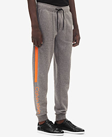 Calvin Klein Men's Fleece Logo Jogger Pants