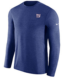 Nike Men's New York Giants Coaches Long Sleeve Top