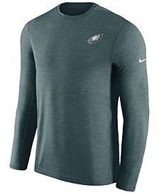 Nike Men's Philadelphia Eagles Coaches Long Sleeve Top