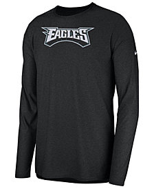 Nike Men's Philadelphia Eagles Player Long Sleeve Top