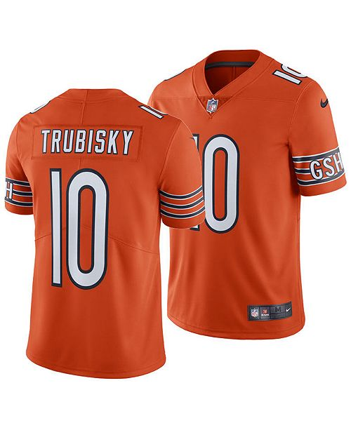 newest collection 901b0 76f0b Men's Mitchell Trubisky Chicago Bears Vapor Untouchable Limited Jersey