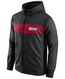 Nike Men's San Francisco 49ers Seismic Therma Full-Zip Hoodie