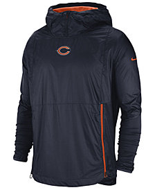 Nike Men's Chicago Bears Lightweight Alpha Fly Rush Jacket