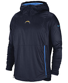 Nike Men's Los Angeles Chargers Lightweight Alpha Fly Rush Jacket