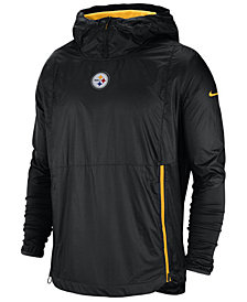 Nike Men's Pittsburgh Steelers Lightweight Alpha Fly Rush Jacket