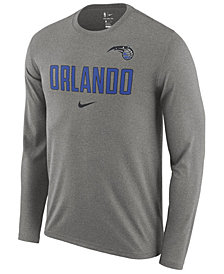 Nike Men's Orlando Magic Essential Facility Long Sleeve T-Shirt