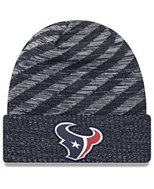 New Era Houston Texans Touch Down Knit Hat