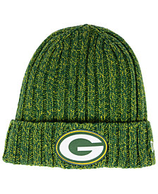 New Era Women's Green Bay Packers On Field Knit Hat