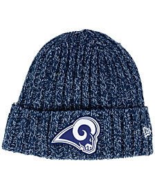 New Era Women's Los Angeles Rams On Field Knit Hat