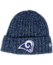 New Era Women's Los Angeles Rams On Field Knit Hat