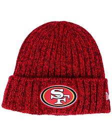 New Era Women's San Francisco 49ers On Field Knit Hat