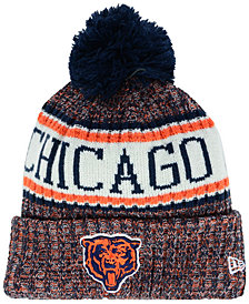 New Era Boys' Chicago Bears Sport Knit Hat