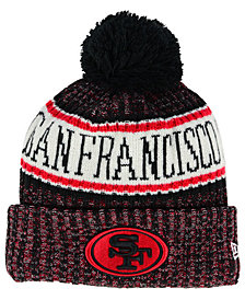 New Era Boys' San Francisco 49ers Sport Knit Hat