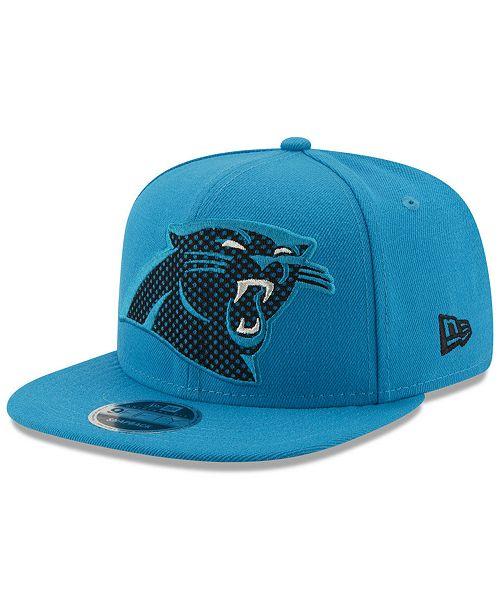 New Era Carolina Panthers Meshed Mix 9FIFTY Snapback Cap - Sports ... 76c4c733ef46