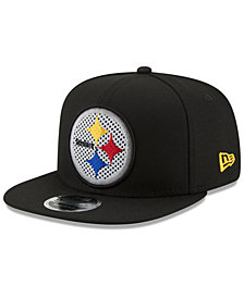 New Era Pittsburgh Steelers Meshed Mix 9FIFTY Snapback Cap