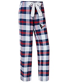 Women's Houston Texans Headway Flannel Pajama Pants
