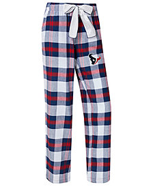 Concepts Sport Women's Houston Texans Headway Flannel Pajama Pants