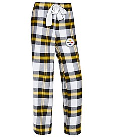 Women's Pittsburgh Steelers Headway Flannel Pajama Pants