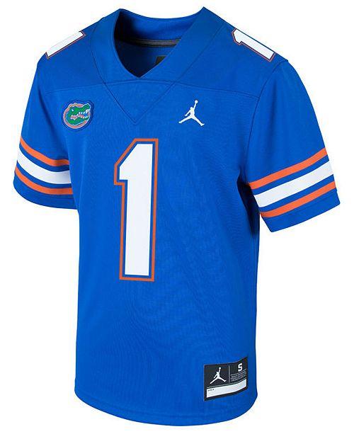 buy online 2444b 4dda8 Florida Gators Replica Game Jersey, Big Boys (8-20)