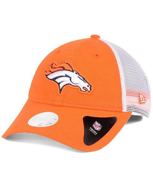082c66fe New Era Women's Denver Broncos Trucker Shine 9TWENTY Cap ...