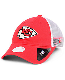 New Era Women's Kansas City Chiefs Trucker Shine 9TWENTY Cap