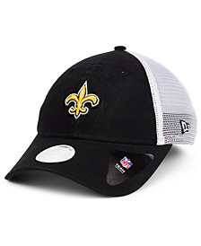 New Era Women's New Orleans Saints Trucker Shine 9TWENTY Cap