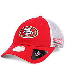 New Era Women's San Francisco 49ers Trucker Shine 9TWENTY Cap