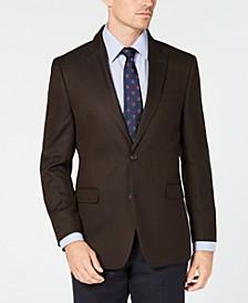 Men's Modern-Fit TH Flex Stretch Herringbone Sport Coat