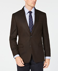 Tommy Hilfiger Men's Modern-Fit TH Flex Stretch Herringbone Sport Coat