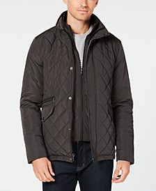 Men's Quilted Overcoat
