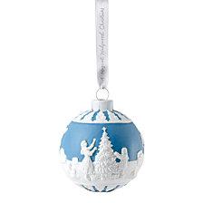 Wedgwood  Dressing the Christmas Tree Ornament