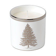 Wedgwood Winter White Candle Earl Grey/Chocolate