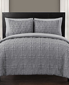 VCNY Home Iron Gate 7-Pc. Quilted Queen Bed-in-a-Bag Set
