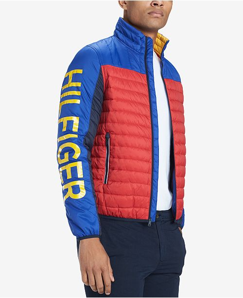 748e84f5 ... Tommy Hilfiger Men's Big & Tall Wilshire Colorblocked Insulator Jacket  ...