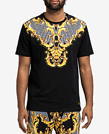 Hudson NYC Men's Baroque Graphic T-Shirt
