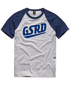 G-Star RAW Men's Raglan Logo T-Shirt