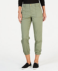 Style & Co Snap-Cuff Casual Pants, Created for Macy's