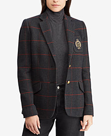 Lauren Ralph Lauren Bullion-Patch Blazer