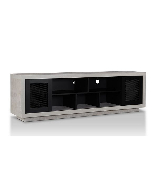 Furniture of America Oox Industrial TV Stand