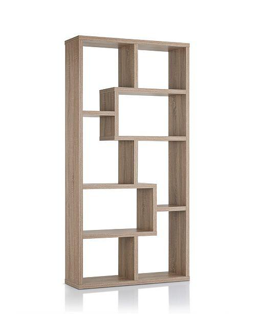 Furniture of America Taki Modern Open Bookcase