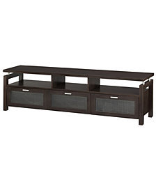 "Missie 70.9"" Acrylic Panel TV Stand"